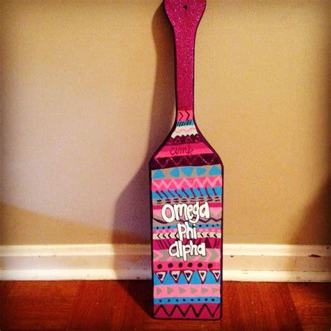 tribal pattern paddles omega phi alpha aztec tribal paddle sorority omega phi