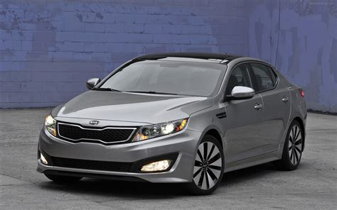 Kia Optima Hybird Kia Optima Hybrid 2011 Widescreen Car Picture 07