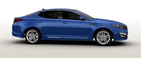 Kia Optima 2014 Blue 2014 Kia Optima Sxl Blue Top Auto Magazine
