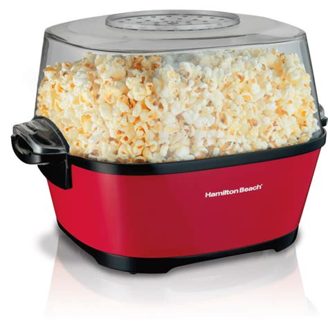 hamilton beach hot oil popcorn popper walmart com