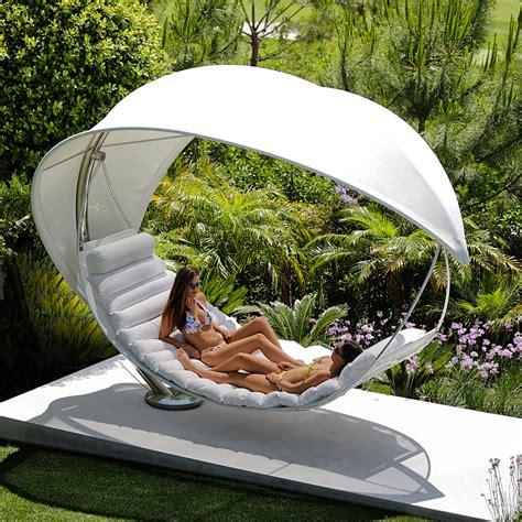 Royal Botania WAVE Luxury Garden Hammock. Modern Garden Swing.
