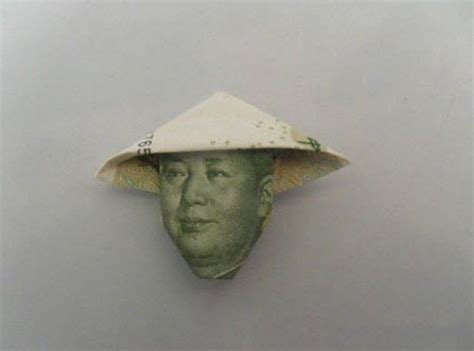 How To Make A Cool Paper Hat - cool origami bank note hat for mao zedong 17 pics