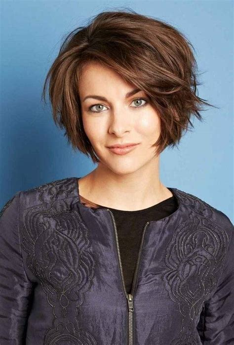 hairstyles for thick hair heart shaped face 25 short hairstyles for heart shaped faces