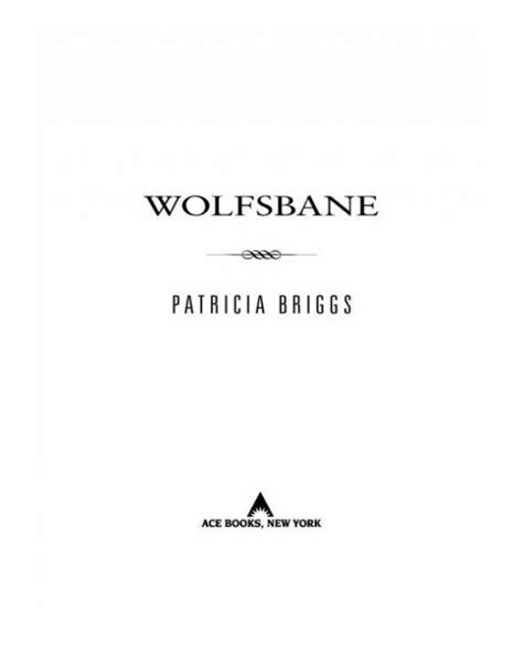 Wolfsbane (Patricia Briggs) » p.1 » All Books Online Free