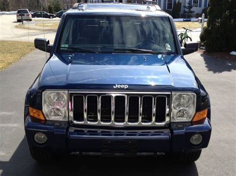 auto body repair training 2006 jeep commander windshield wipe control sell used 2006 jeep commander limited sport utility 4 door 4 7l in whitman massachusetts