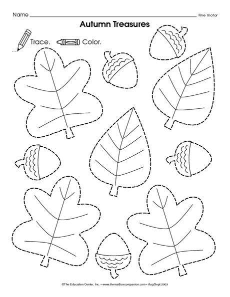 printable traceable leaves leaves home schooling stuff pinterest editorial