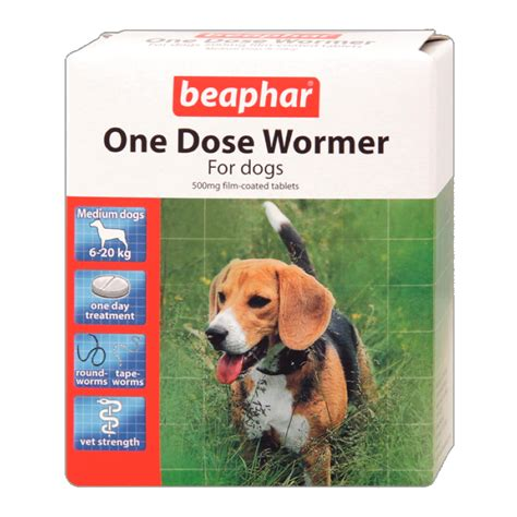 beaphar worming tablets one dose multi wormer