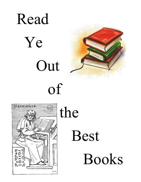 read one outs read ye out of the best books