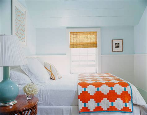 ice blue bedroom ice blue bedroom with a pop of bright orange mojan sami