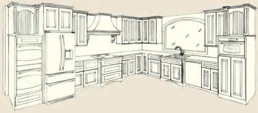 Kitchen Design Drawings by Kitchen Cabinet Designs Drawings House Furniture