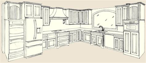 draw kitchen cabinets kitchen design drawing kitchen and decor