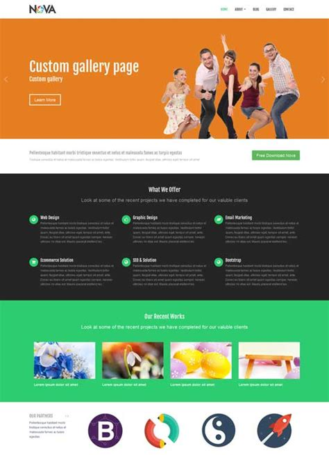 free bootstrap html5 templates bootstrap website templates learnhowtoloseweight net