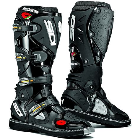 leather dirt bike boots sidi crossfire mx enduro off road steel toe motocross moto