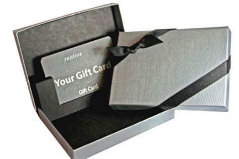 Gift Card Boxes - unique gift card giving with customized gift boxes newswire