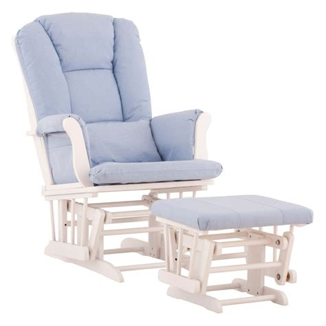 Nursery Glider Rocking Chairs Baby Nursery Epic Light Blue Baby Nursery Glider Chair Using White Rocking Base And Cozy Blue