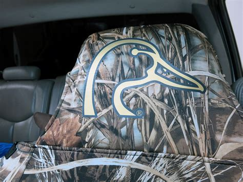 black duck camo seat covers ducks unlimited universal fit seat cover neoprene