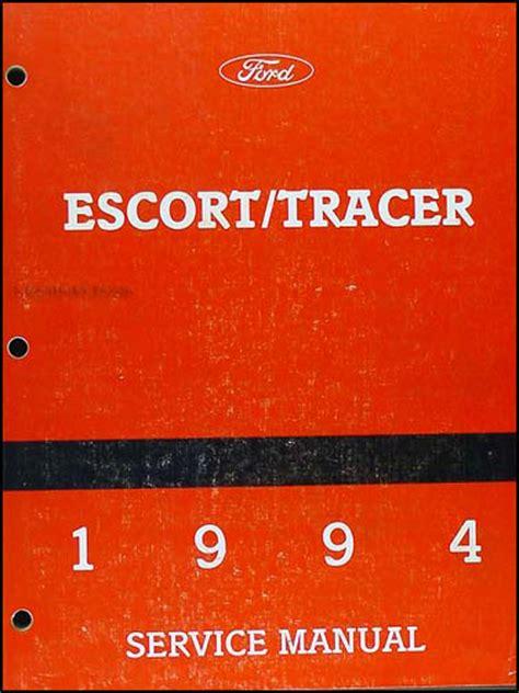 1994 ford escort and mercury tracer repair shop manual original