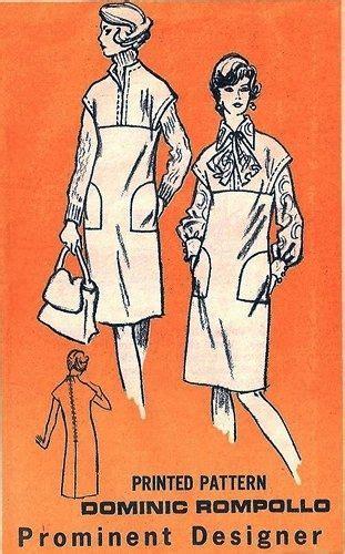 prominent designer m109 artsy jumper blouse scarf 1970 s designer dominic rompollo sewing