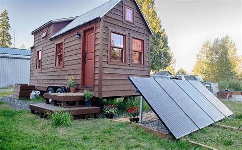 small solar home solar power tiny tack small house home decorating trends