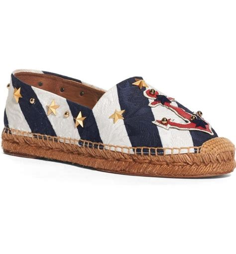 Gucci Embroidered Espadrilles Leather Summer 2017 168 trendy espadrilles for summer 2017 in every style and price range