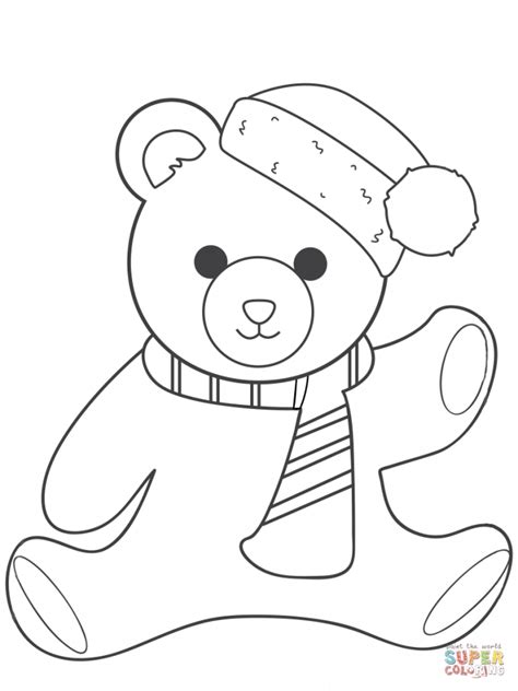 teddy coloring pages get this teddy coloring pages yagr7