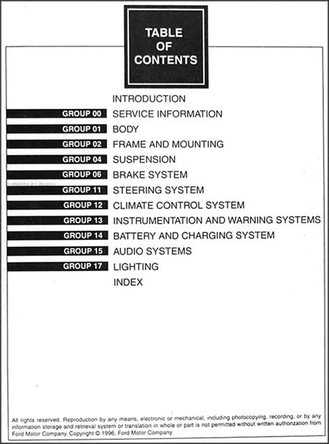 service manual best auto repair manual 1997 ford f series user handbook ford f100 f150 f250