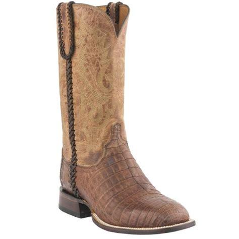 lucchese m2617 wf dalton caiman crocodile belly boots