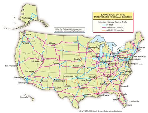 interstate highway map interstate highway system map us images