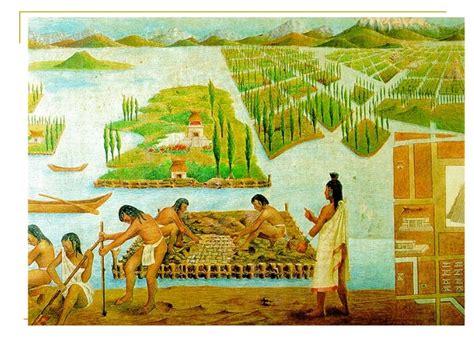 imagenes de los aztecas animadas agricultura azteca