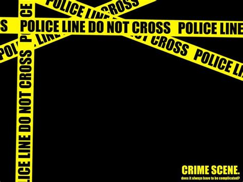 Crime Scene Wallpapers Wallpaper Cave Murder Powerpoint Template