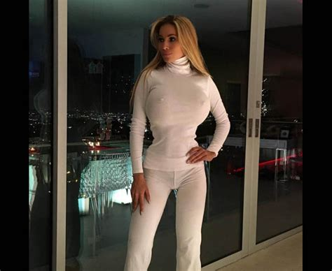 Maria Yotta Flaunts Her Huge Cleavage And Tiny Waist In White Outfit Flashy German Tycoon And