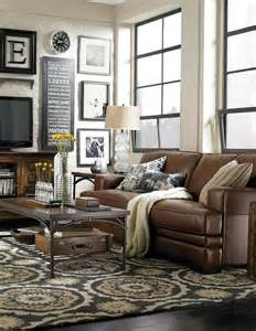 Living Room Decorating Ideas For Brown Leather Furniture Decorating Around A Brown Decorating Around Brown