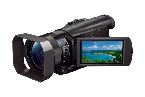 Sony 4k ces 2014 sony releases fdr ax100 2000 4k handycam