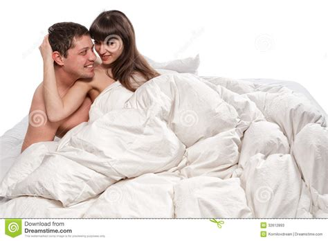 lovers in bed lovers in bed stock photos image 32612893