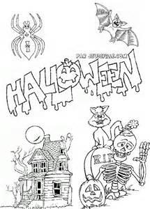 Marvelous Jeu De Halloween Gratuit Pour Fille #1: Coloriage-halloween.jpg