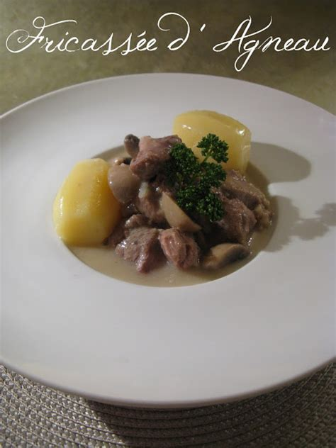 cuisiner une 駱aule d agneau fricass 233 e d agneau blogs de cuisine