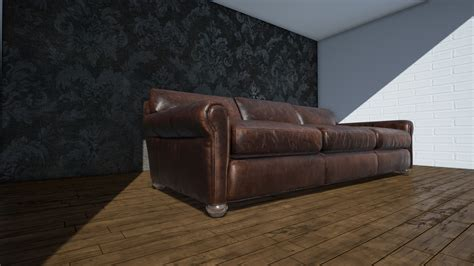 sofa scene game engine technology by unreal