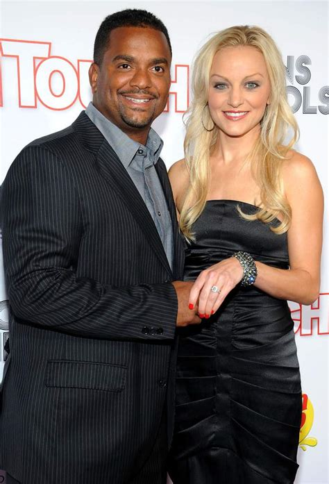 popular white actors with their black spouses interracial angela unkrich alfonso ribeiro s wife the photos you