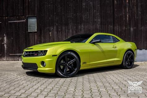 electric green camaro electric lime green chevrolet camaro ss by schwabenfolia