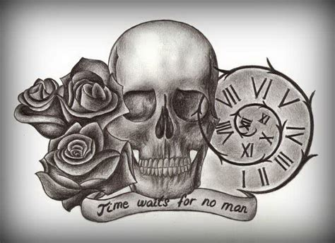 pencil sketches skulls and roses pic 5580415 171 top tattoos