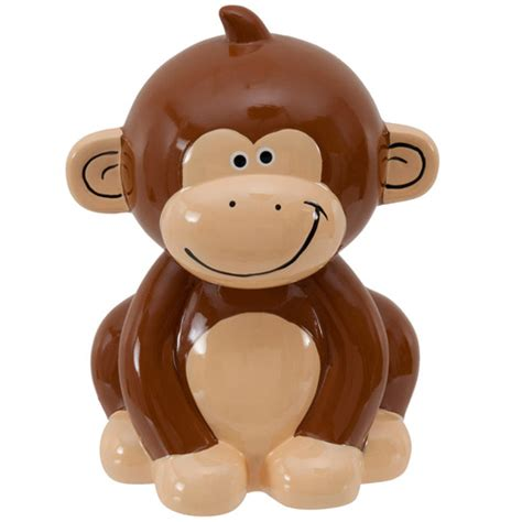 monkey piggy bank ceramic bank monkey walmart
