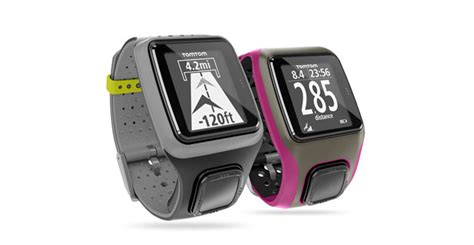 tomtom makes own brand gps sports watches no nike swoosh