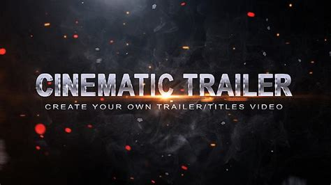 cinematic movie trailer template
