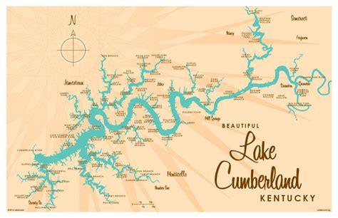 kentucky lake map pdf lake cumberland map world map 07