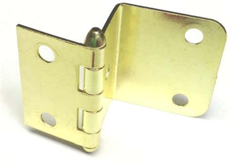 wrap around butt hinge brass plated 1 1 2 quot x 3 4 quot