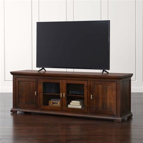 "Crowne 72"" Media Console   Reviews   Crate and Barrel"