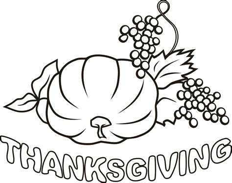 Coloring Pages Thanksgiving Day | imageslist com thanksgiving day for coloring part 2