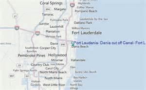 dania florida map port laudania dania cut canal fort lauderdale