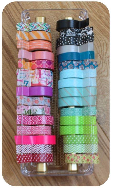 diy washi a great way to organize your washi tape studio