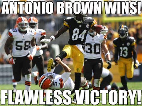 Antonio Brown Meme - wrong sport antonio antonio brown s karate kick know your meme